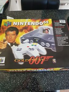 N64 Goldeneye 007 Empty Box