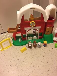 Fisher price farm and market !