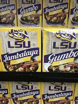 ONE New Box LSU DIRTY RICE Mix Rice Dinner Add Meat 30 Min Cook Time Cajun Food Dirty Rice Mix