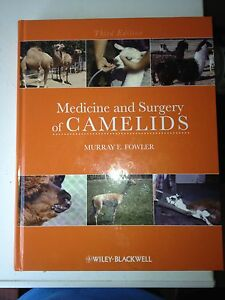 Fowler: Medicine and Surgery of Camelids Mount Larcom Gladstone Surrounds Preview