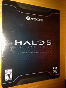 Halo 5 Limited Edition (sealed)