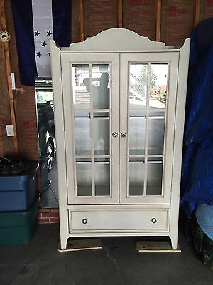 Large French country style Dining room hutch Country Dining Room
