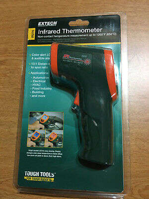 Extech Ir270 Ir Infrared Thermometer With Color Alert