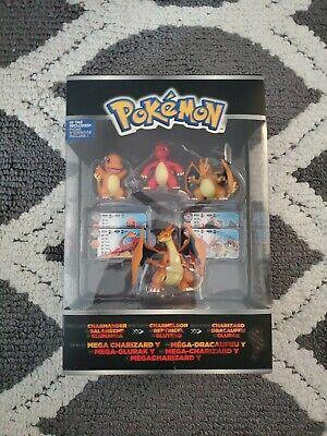 Pokemon Mega Charizard Y TOMY ID Tag Charmander Charmeleon Action Figure...