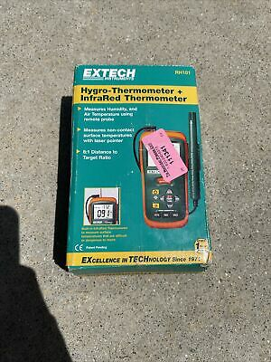 Extech Rh101 Hygro-thermometer Infrared Thermometer New