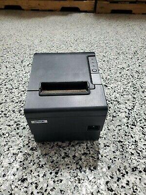 Restick Liner Free Epson Tm-t88iv Pos Usb Receipt Label Printer M129m Dark Gray