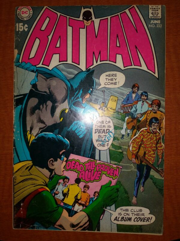 Batman #222 Beatles Cover!