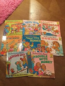Berenstain Bears Book Collection- lot of 8