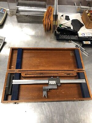 Brown And Sharpe No. 586 Vernier Height Gage