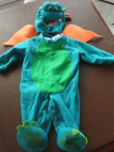 inCharacter Halloween Costumes Toddler Small 18-24 months Blue Dragon