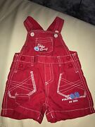 Baby Boy Overalls In Red Size 000 Excellent Condition Maylands Bayswater Area Preview