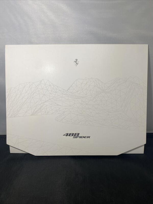 Ferrari 488 Spider Lithographs Rare