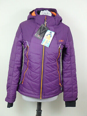 CMP #35377 Campagnolo Steppjacke Winter Outdoor Jacke Damen Gr. 36 XS Lila