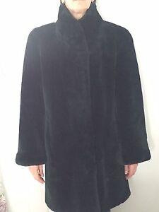 Manteau castor rasé
