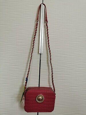 Versace Pink Cross Bag New