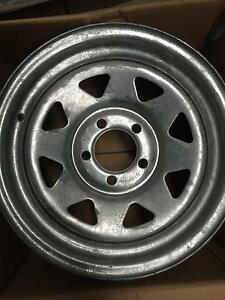 boat trailer wheels 14x6 5x108 Galvanised Holden HK Torana Rowville Knox Area Preview
