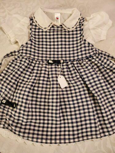 VGC.US Sz 12 Mo,Baby,Girls,Kids Trachten,Oktoberfest,Dirndl Dress,2-pc.Blue