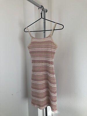 Mini Dress Sexy Women Lace Crochet Dress Summer Beach Dress