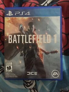 PS4 games (BF1,NFS payback, Star Wars battlefront 2)