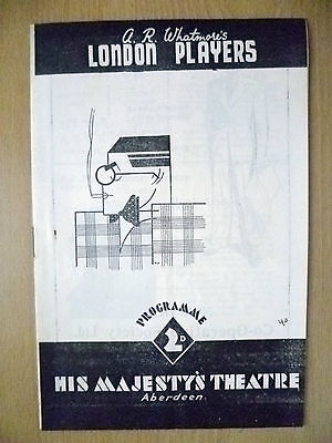His Majesty's Theatre 1940- SPRING MEETING by M J Farrell & John Perry