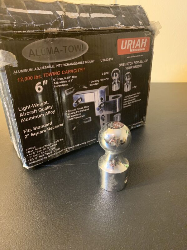"2"" Ball For Uriah Products UT623410 Adjustable Interchangeable Aluminum Mount"