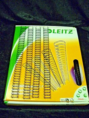 Esselte Leitz 27722 Binding Wire Elements Silver 16 mm Box of 50
