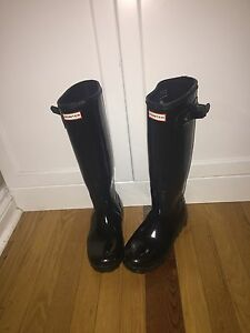 New hunter boots size 7