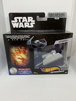 Star Wars Hot Wheels Starships Darth Vader Tie Fighter Commemorative Series