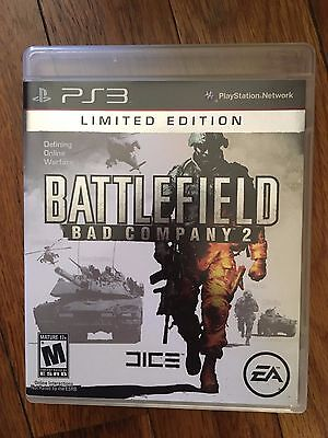 Battlefield: Bad Company 2 - Limited Edition (Sony PlayStation 3, 2010) Complete