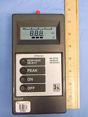 Holaday Industries Hi-3715 Hand-held Remote Readout Controller Used With Hi-3701