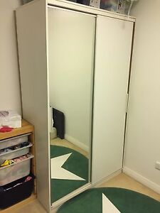 IKEA trysil wardrobe white Meadowbank Ryde Area Preview