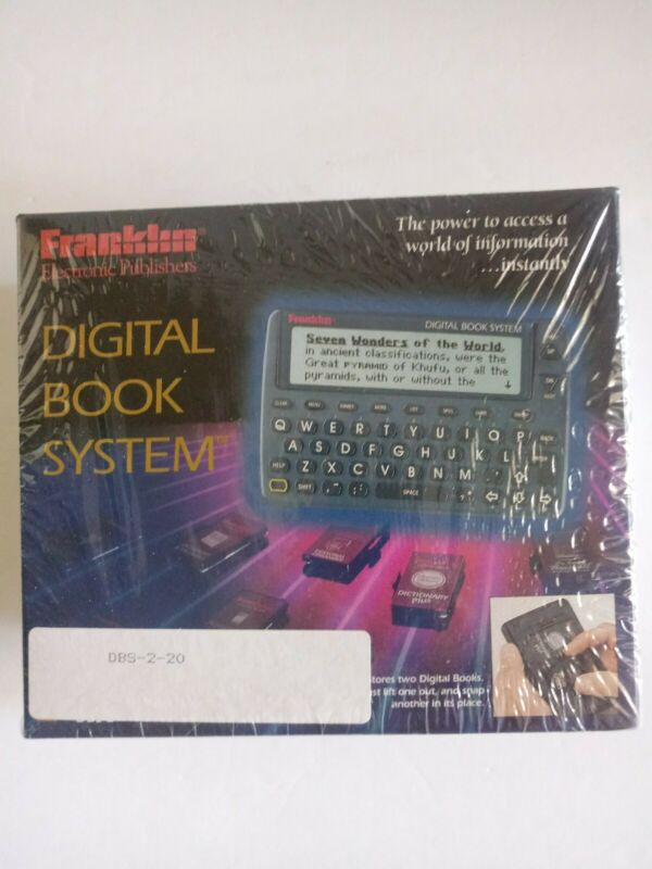 Franklin Electronic Publishers Digital Book System DBS-2 084793202964 New Sealed