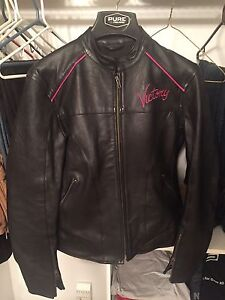 Women's Victory Leather Motorcycle Jacket