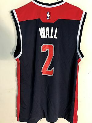 Adidas Nba Jersey Washington Wizards John Wall Navy Sz M