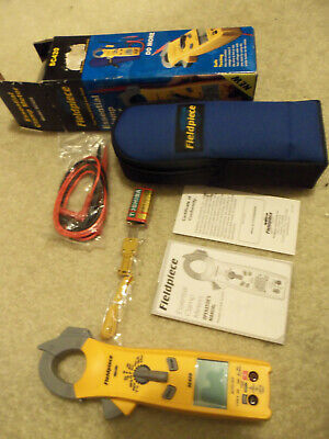 Fieldpiece Sc420 Essential Clamp Meter With Leads