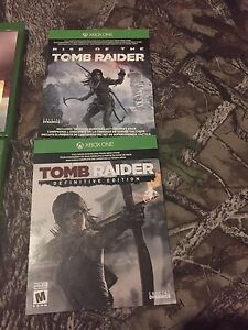 Rise of tomb raider and tomb raider definitive edition