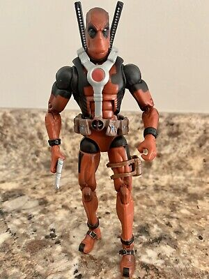 "Marvel Legends 6"" AF Loose Deadpool Epic Heroes Red 2012 Hasbro ToyBiz"