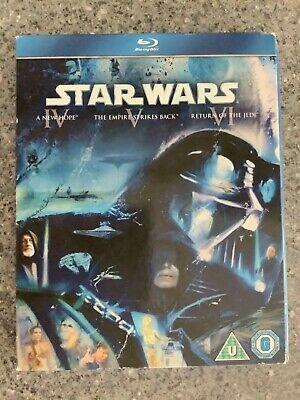STAR WARS Trilogy Episode IV V VI 4 5 6 New & Sealed Blu Ray