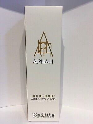 ALPHA H Liquid Gold With Glycolic Acid 3.4oz/100ml NIB