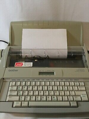 Works Fine Brother Correctronic Gx 8250 Electric Typewriter