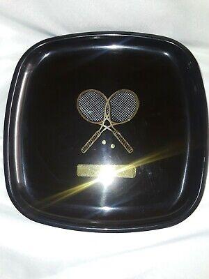 Courec Tennis Mid Century Platter Plate Monterrey California