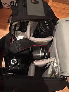 Canon EOS 600D SLR Camera with additional lens, case and tripod Yeronga Brisbane South West Preview