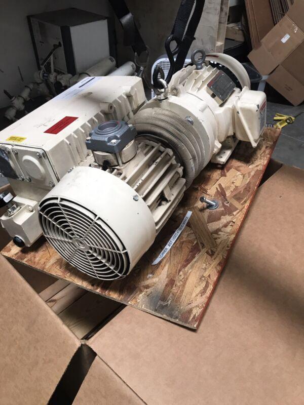 BUSCH RC 0100-E5Z6-1001 VACUUM PUMP 3 PHASE 5HP 63 CFM
