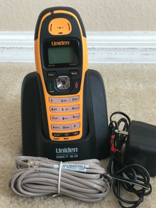UNIDEN DECT WXI2077  6.0 WATERPROOF SUBMERSIBLE CORDLESS PHONE
