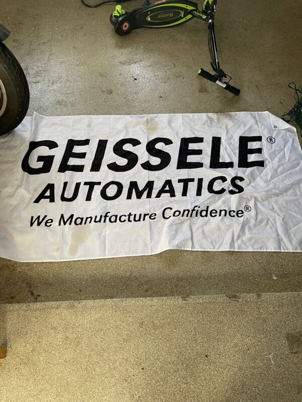 Geiselle Automatics Banner Double Sides