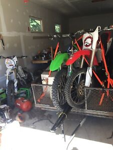 04 crf 250 trade for vechile
