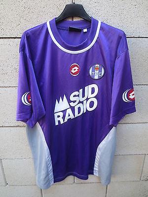 VINTAGE Maillot TOULOUSE TFC Lotto SUD RADIO 2004 football shirt trikot XL image