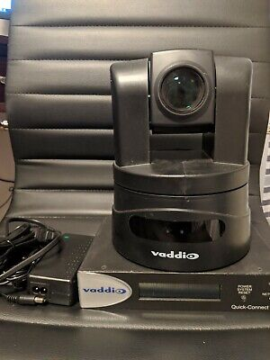 Vaddio Clearview Hd-19 Ptz Hd Camera Quick-connect Usb Interface 998-1105-038
