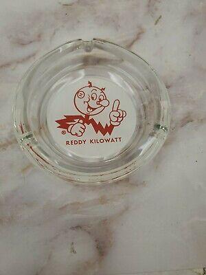 Reddy Kilowatt Vintage Original Glass Ashtray NOS