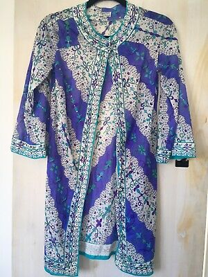 Emilio Pucci Floral Button Down Tunic